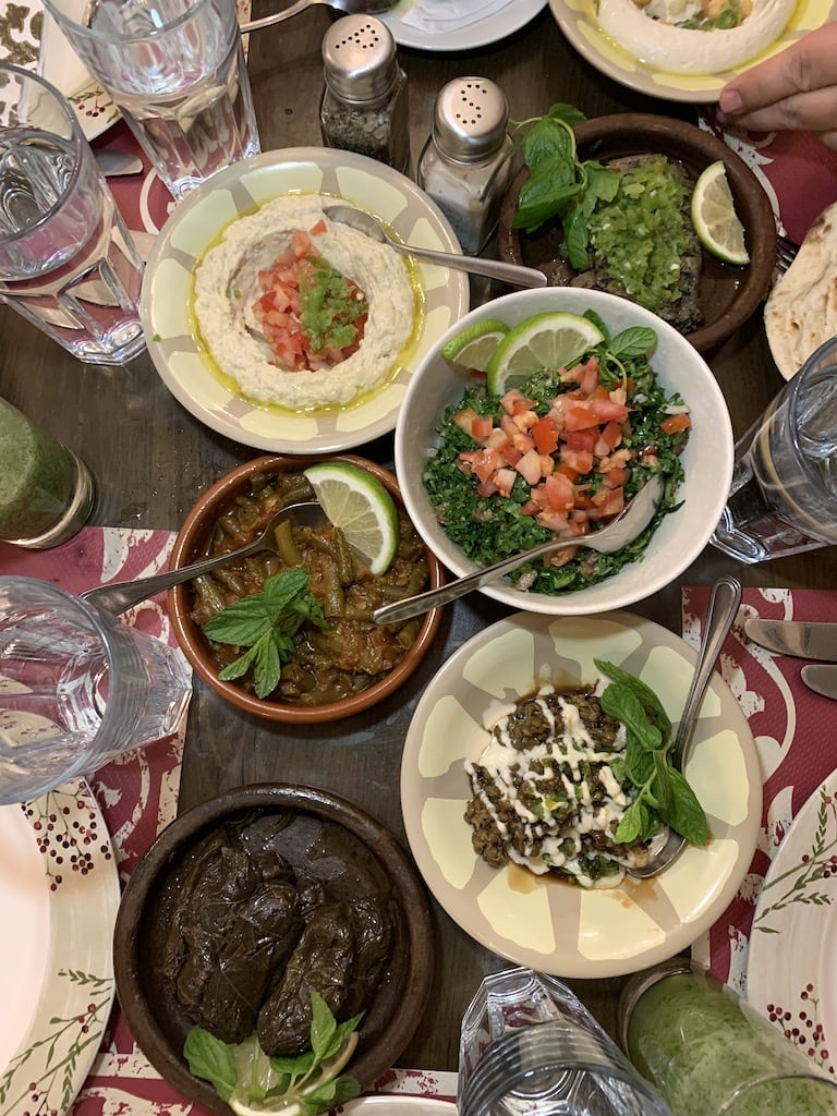 There are so many great restaurants in Amman, Jordan, I thought I'd help you with the decision making process. Who else loves Middle Eastern food?