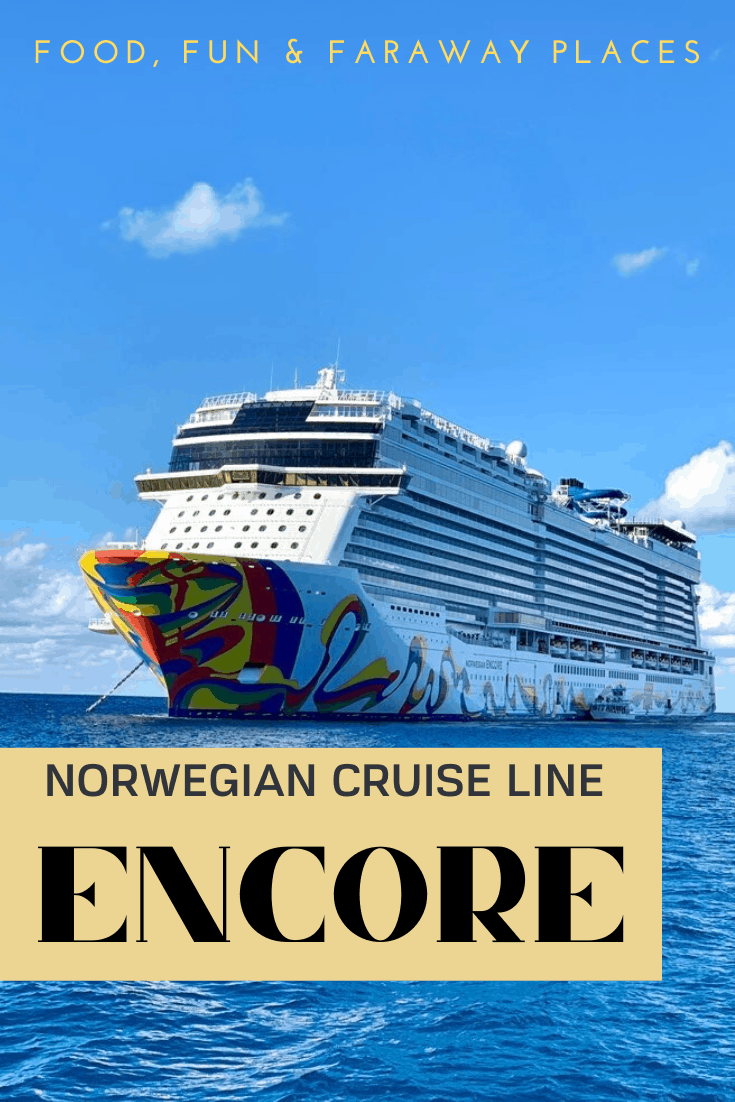 Thinking about a New York to Bermuda cruise vacation, have I got the ship for you! NCL's newest ship, the Encore, is spectacular!