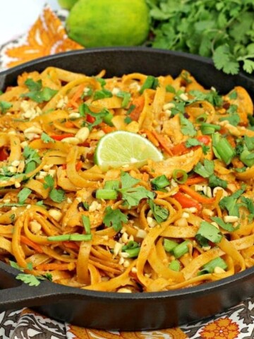 Having a pad Thai noodle recipe in your arsenal of easy meals means you can make something delicious and different when your family gets bored with everyday dinner recipes.