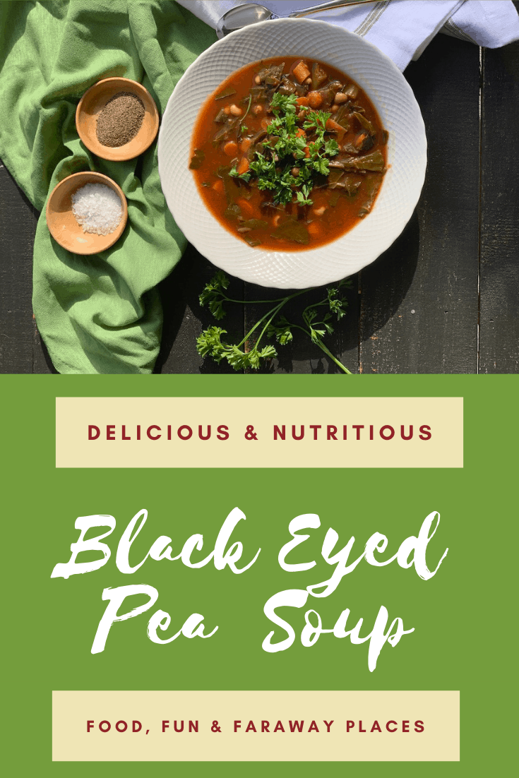 I can't believe how much my family loved this black eyed pea soup!
