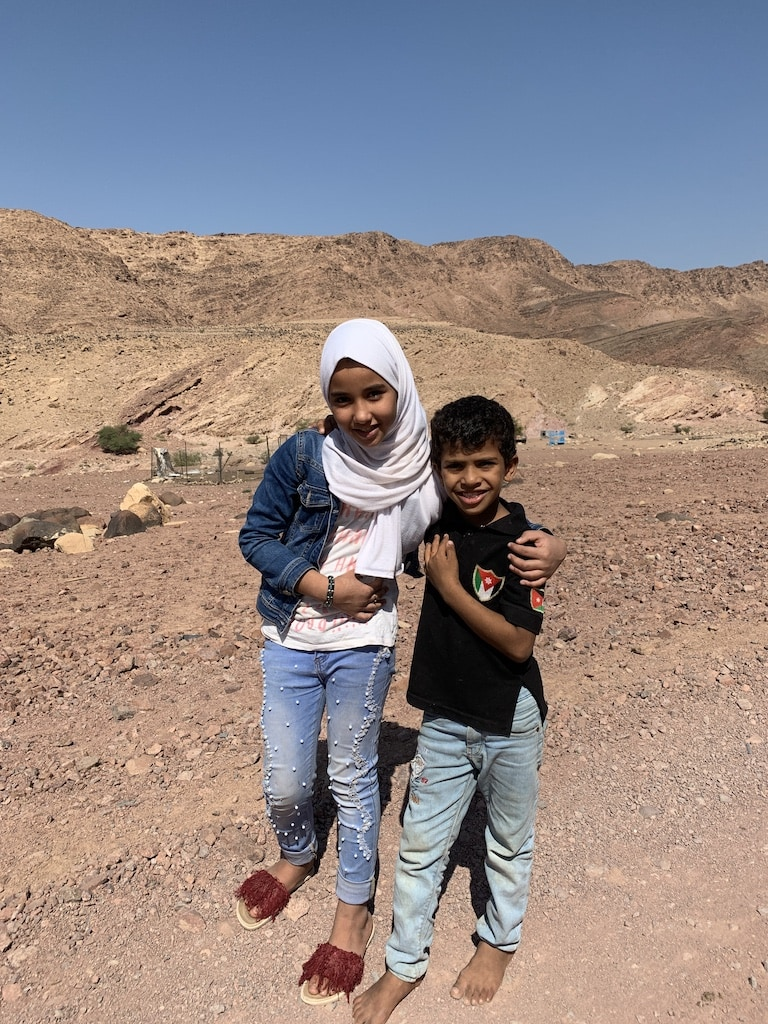 Learning about the Bedouin way of life in Jordan