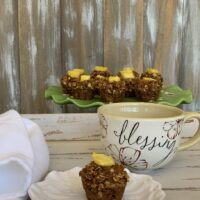 Make breakfast delicious with this easy muffin recipe. You won't find a healthier way to start your day as this muffin has no added sugar and no dairy!