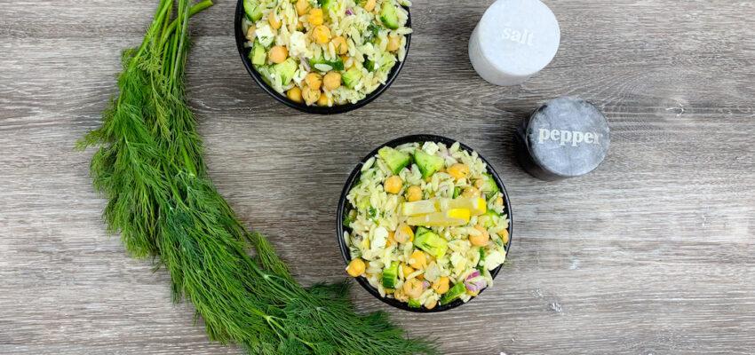 Easy Greek Orzo Salad