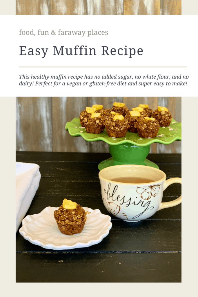 This delicious and easy muffin recipe makes a delicious breakfast or afternoon snack.
