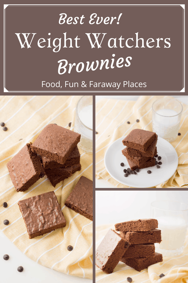 When you need something sweet, these Weight Watchers Brownies are perfection.