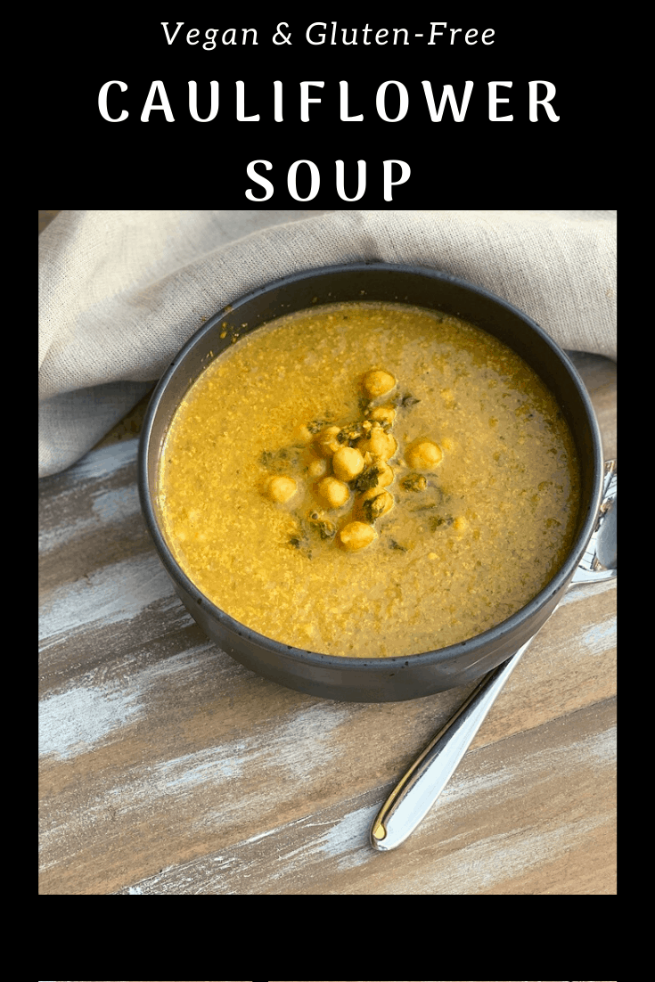 This vegan cauliflower soup recipe is so good, and using my slow cooker means less time in the kitchen!