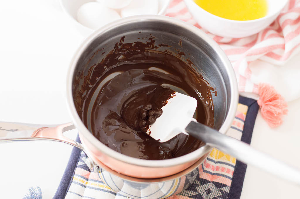 Dark chocolate brownies are my preference when it comes to chocolate anything! Pair this with a cup of tea at the end of the day.