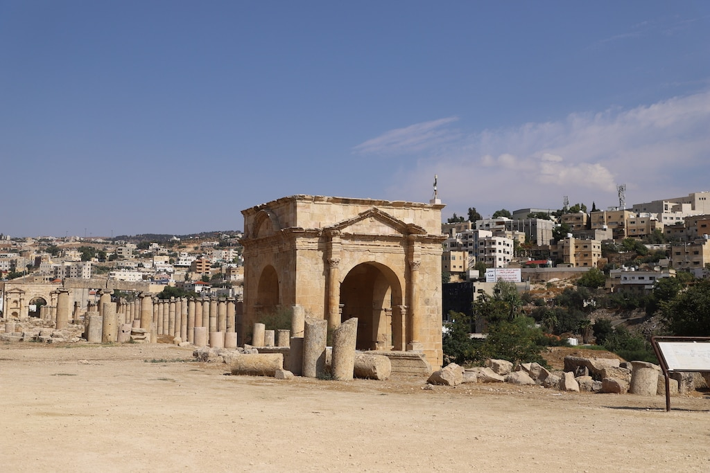 Touring the historic ruins of Jerash in Jordan was a fascinating experience, and a must when visiting this Hashemite Kingdom.