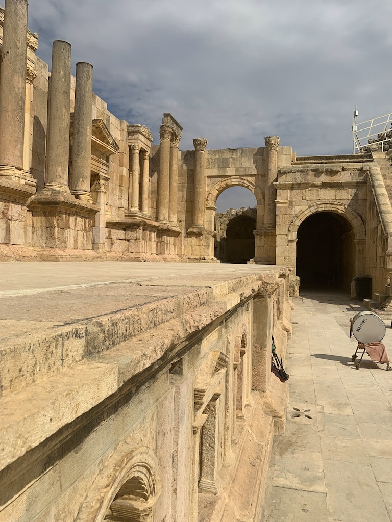 Touring the Jerash ruins was a fascinating experience, and a must when visiting the Hashemite Kingdom of Jordan.