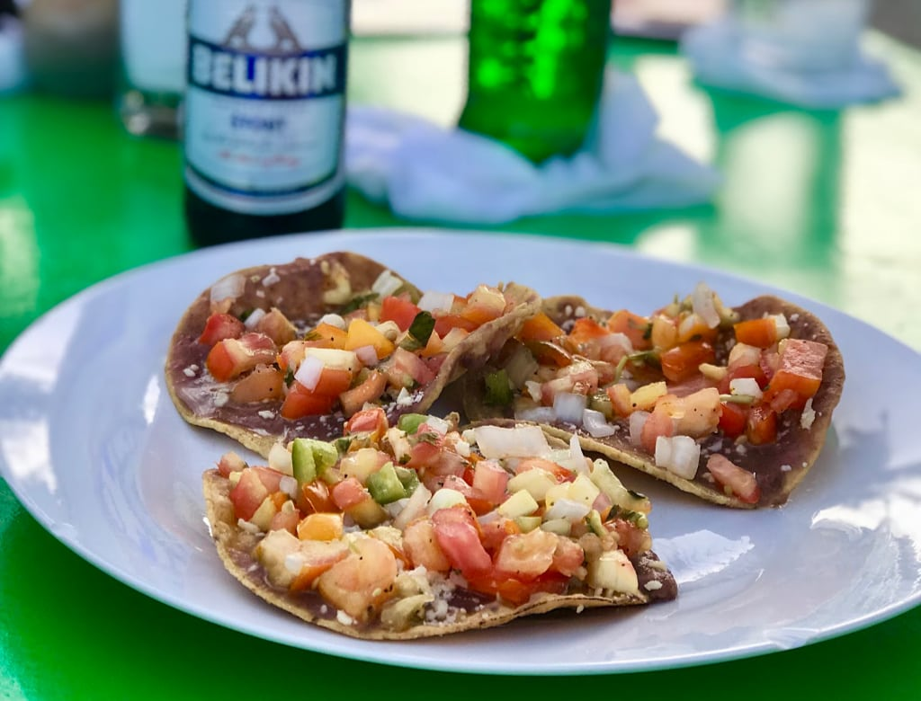 appetizer in Belize