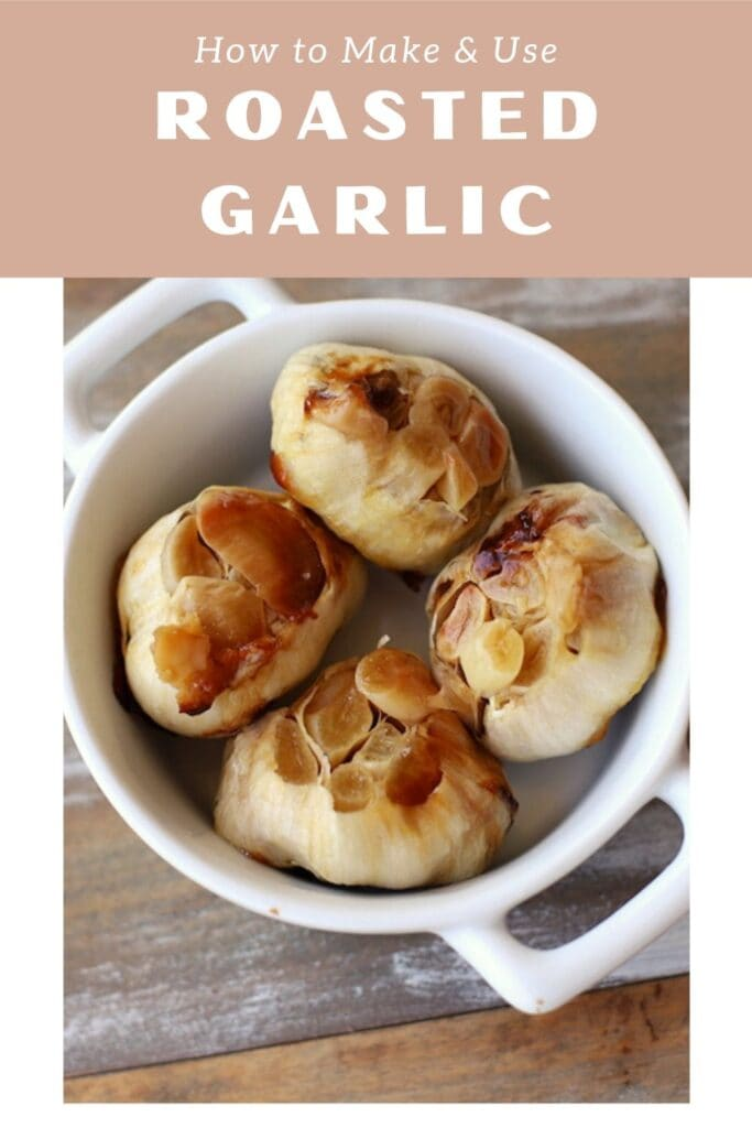 You have to know how to roast garlic cloves if you're planning to use roasted garlic in a recipe. Roasted garlic also spreads like butter once it's roasted.