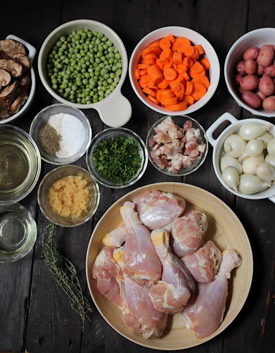chicken stew ingredients