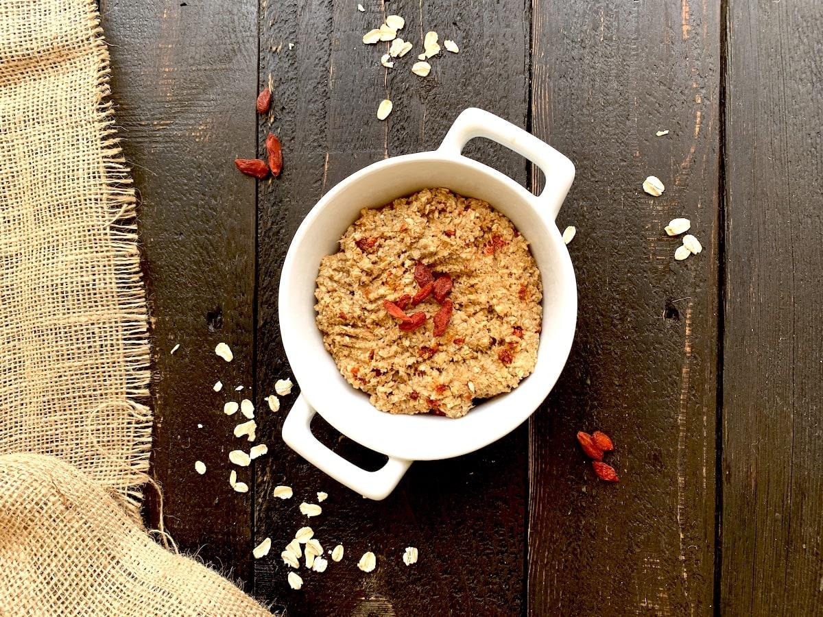 oatmeal goji berry cookie mix