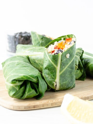 quinoa sweet potato wraps