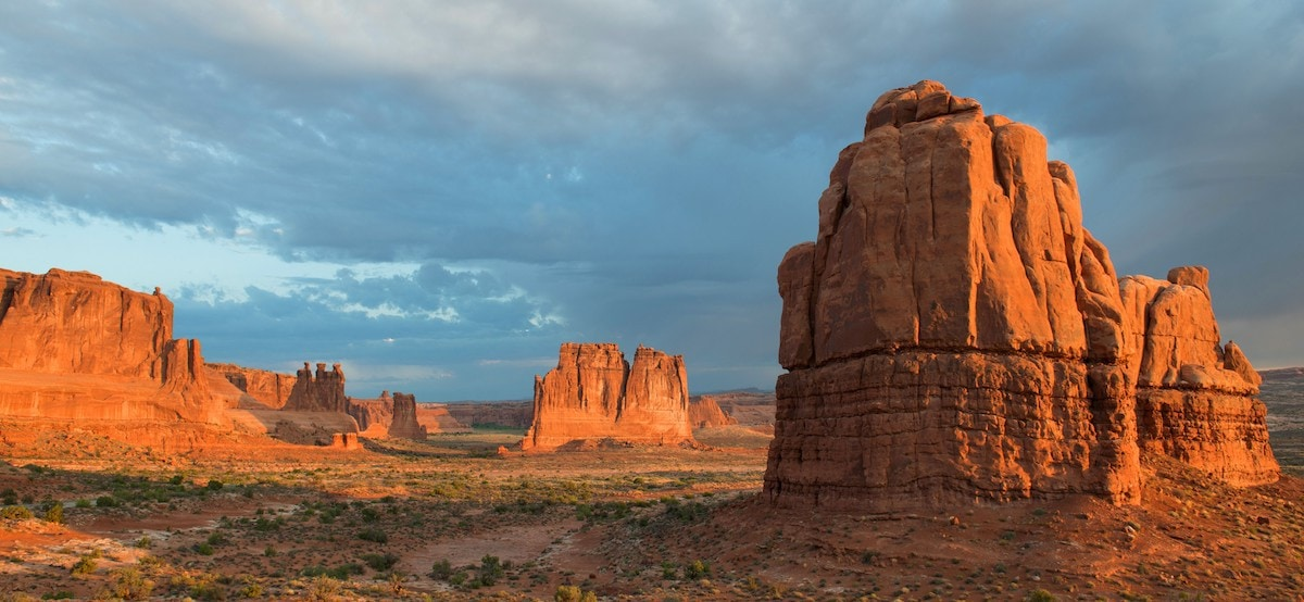 Arches National Park near Moab