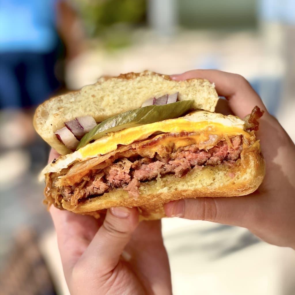 Tiki Burger at Tiki Gril at Hawk's Cay