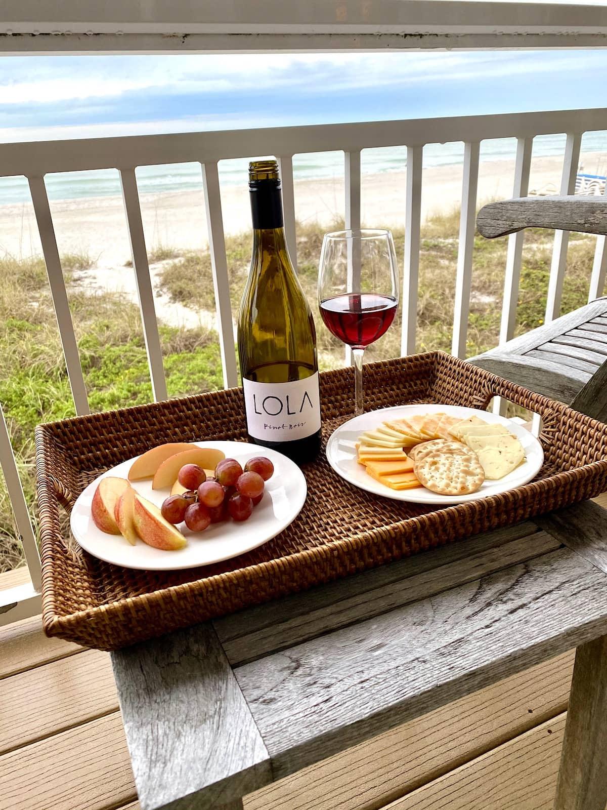 Balcony at Mainsail Beach Inn Anna Maria Island Beaches.