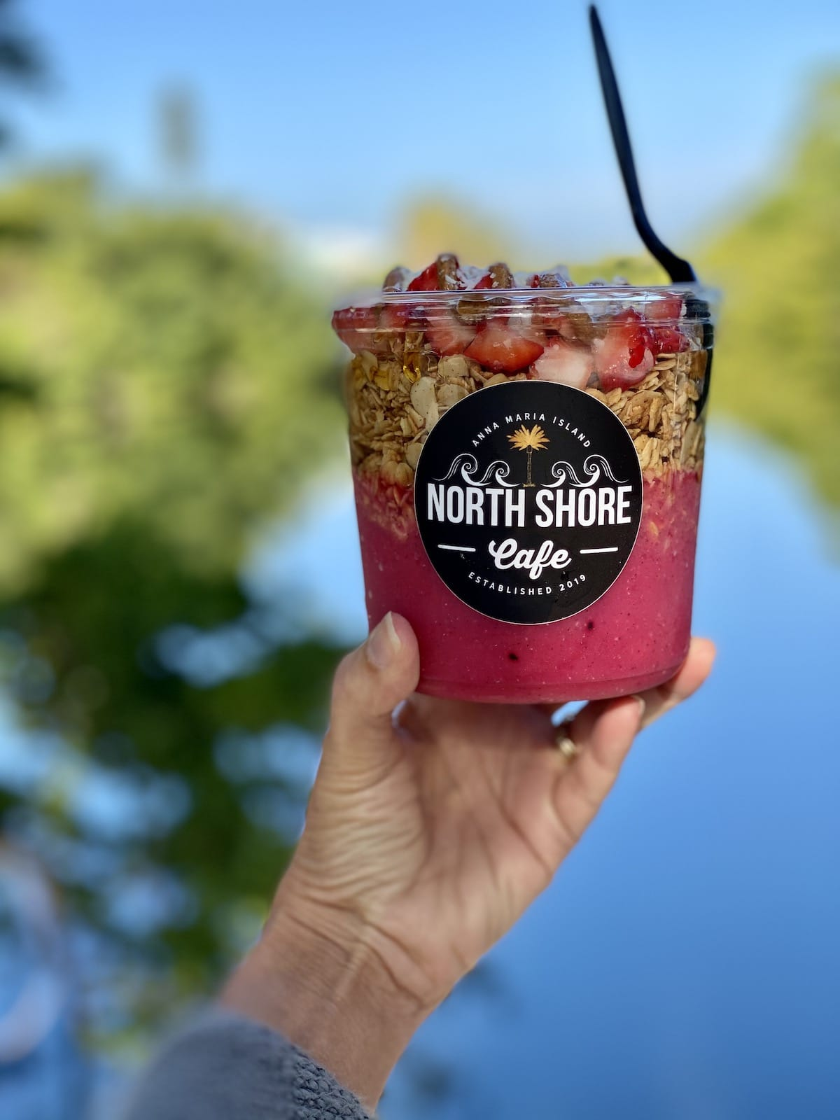 North Shore Cafe breakfast bowl.