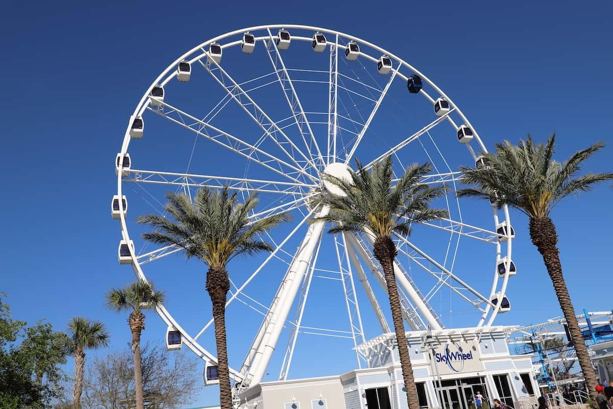 Ferris Wheel SkyWheel in Panama City Beach Florida.