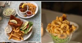 Collage of Anna Maria Island Restaurants for Pinterest.